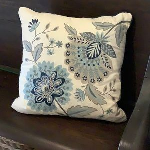 Pier 1 Embroidered Accent Pillow